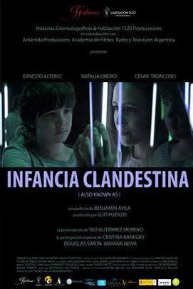 Affiche Infancia Clandestina
